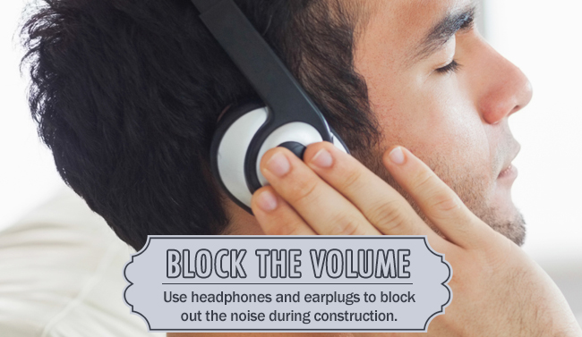 Block the Volume