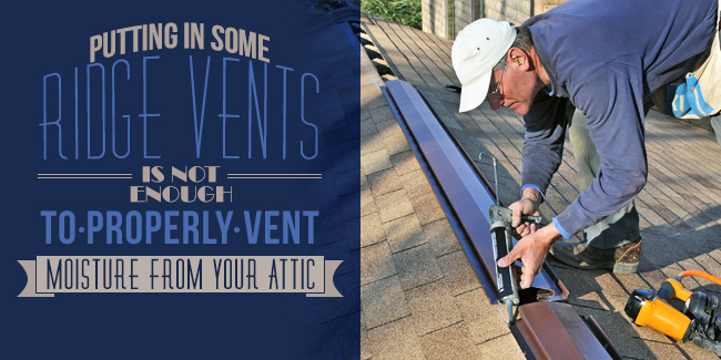 Improperly Vented Attics
