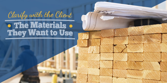 Know the Building Materials