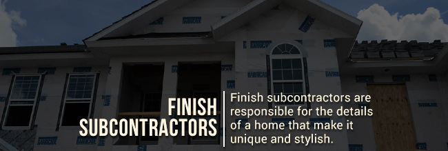 Types Of Subcontractors For Home Building Steve Allen
