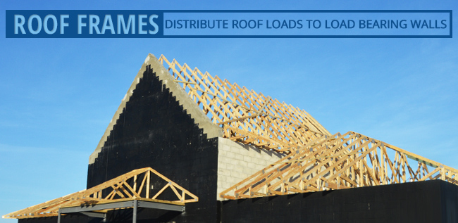 Wood Framing on a Roof